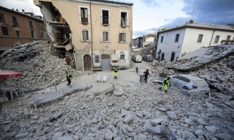COMUNICATO STAMPA – TERREMOTO CENTRO ITALIA