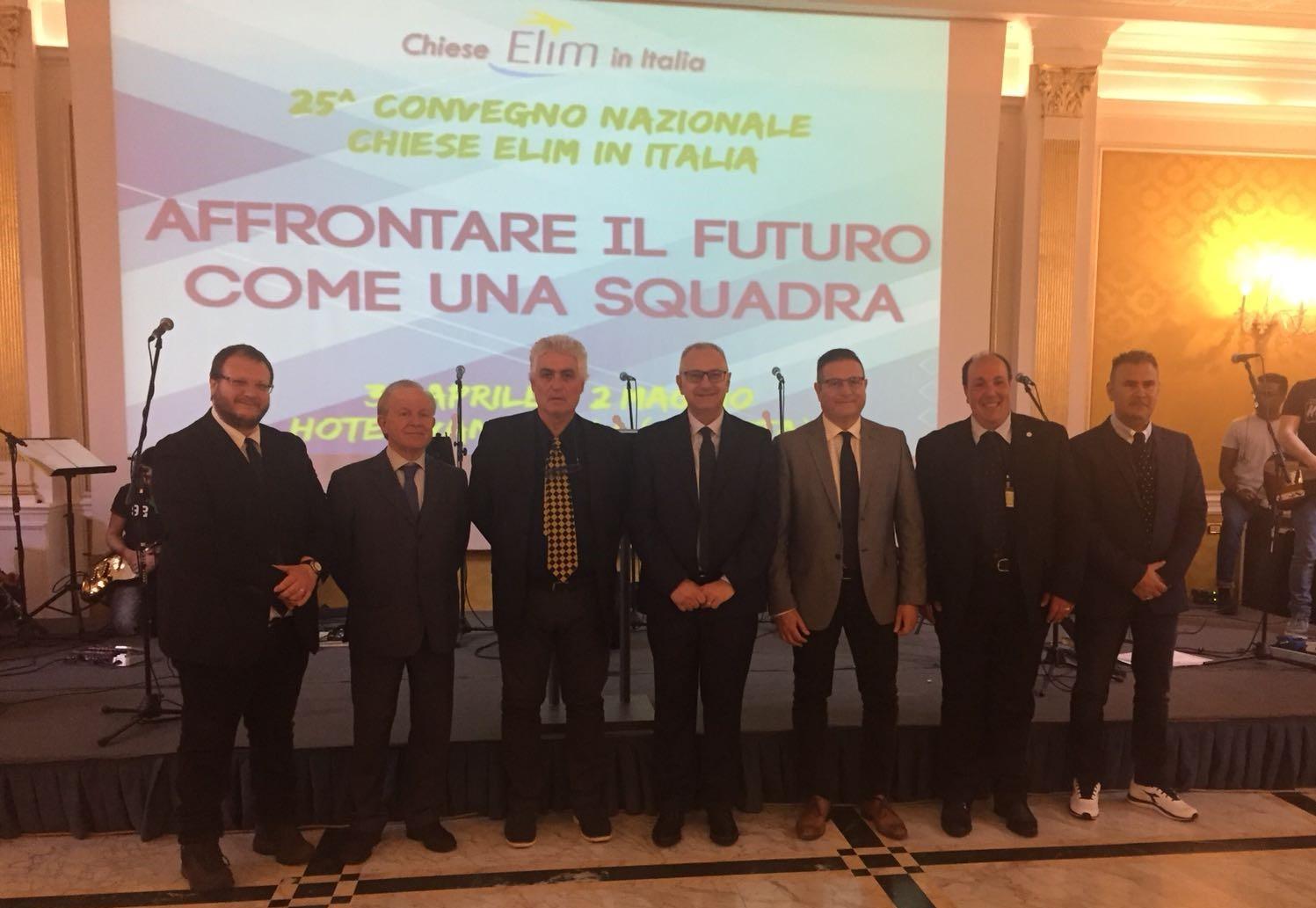 Nuovo Comitato Esecutivo delle 'Chiese ELIM in Italia' – 01 maggio 2018, Convegno Nazionale a Caserta (CE)