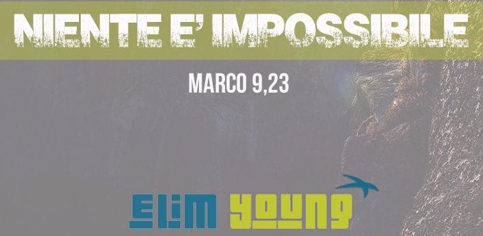 'NIENTE E' IMPOSSIBILE' – Raduni Giovanili – 8 Dicembre 2018