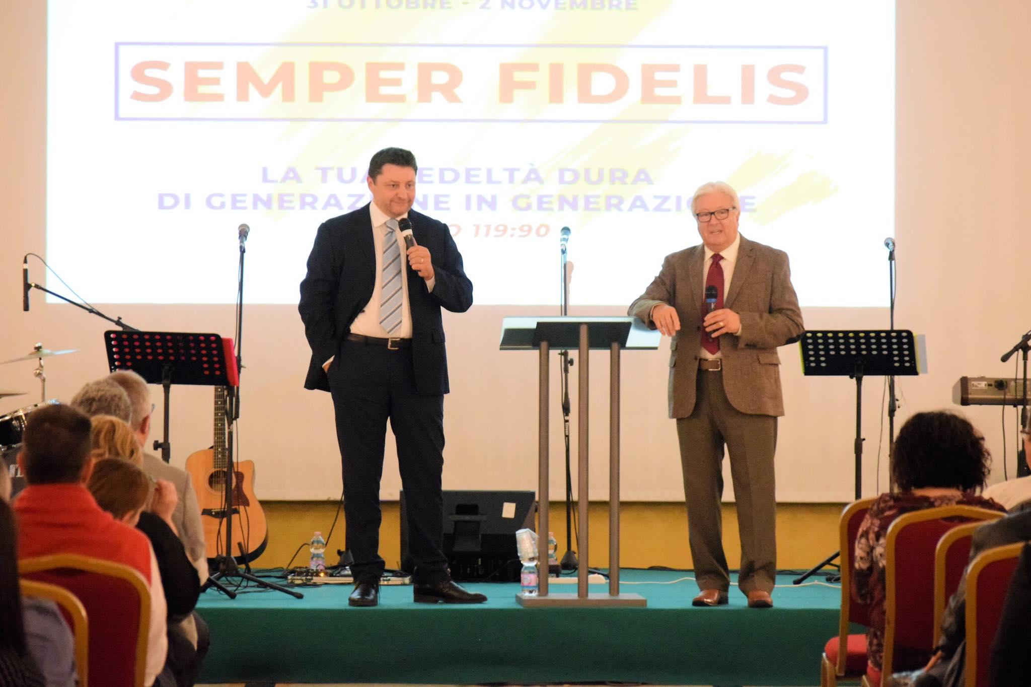 CONVEGNO DI CELEBRAZIONE 25° Anniversario delle Chiese Elim in Italia – 31 Ott-02 Nov. 2018 – Predicazioni mp3